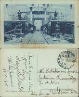 S.GIOVANNI INTERNO FERRY BOATS CON MARINAI IN POSA FOTOGRAFICA 1916 RARA*N.47460