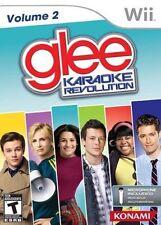 Wii Game Karaoke Revolution Glee vol. Volume 2 NEW