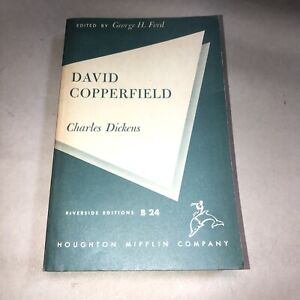 David Copperfield by Charles Dickens Riverside Editions PAPERBACK