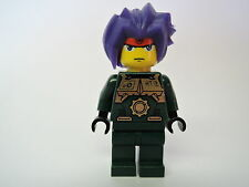 Lego minifigura Exo-Force Ryo exf014 lila cabello de set 3886 7721 8100 8108
