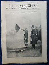 ILLUSTRAZIONE ITALIANA - N 9/1925- 1^ GARA CIRCUITO AUTO ROMA