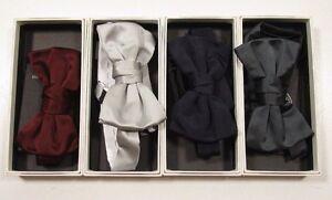 Yves Saint Lauren Men's Satin Bow Tie