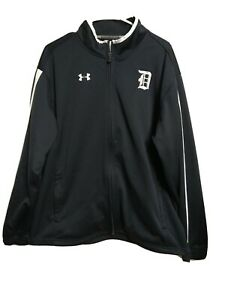 Under armour Cold-gear MEN'S X-LARGE Loose Athletic Full Zip Jacket Black(n1