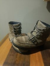 New listing Polo Ralph Lauren Ranger HI  Leather Tan Boots Youth Boys Size 5.5 - WMN 7.5