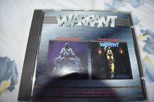cd compact disc musica rock metal warrant first strike the enforcer