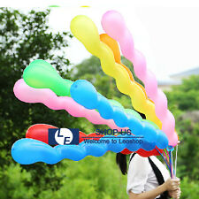 New 100pcs Latex Spiral Balloons Wedding Festival Birthday Kids Party Decoration