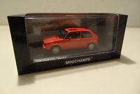 VW Golf I GTi Pirelli - 1983 red - Minichamps 1:43