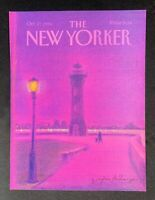 COVER ONLY ~ The New Yorker Magazine, October 27, 1986 ~ Eugene Mihaesco