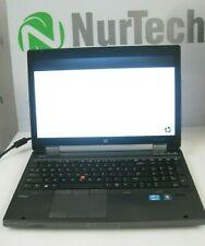 HP ELITEBOOK 8570W i5-3340M 2.7GHz 8GB/320GB WiFi Webcam Linux Laptop +AC