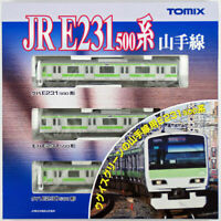 Tomix 92373 JR Series E231-500 Commuter Train Yamanote Line 3 Cars Set (N scale)