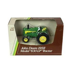 1/43 John Deere 630 LP Standard Wide Front Vintage Tractor By ERTL ZFN5599
