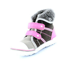 GIRLS SAPPHIRE BOOT GREY PINK SIZE 5 BABY INFANT (Eur 22) Boots Shoes