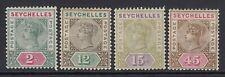 SEYCHELLES-1893 Set to 45c Sg 22-25  MOUNTED MINT