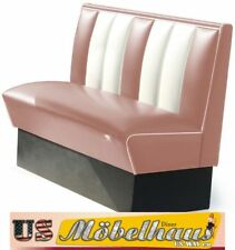 HW-120D American Diner Bench Seating Furniture 50´S USA Style Catering
