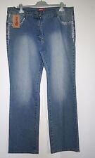 Jeans donna forme tg 58 con strass offerta fine serie