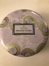 Voluspa 3 Wick Decorative Tin Candle 12oz - Panjore Lychee