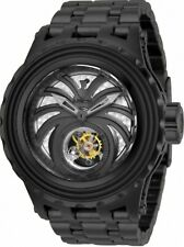 Invicta Reserve Black Combat Spider Specialty Subaqua Ltd Ed Tourbillon Watch