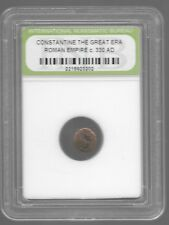 Rare Old Ancient Antique CONSTANTINE GREAT Roman Empire Invest War Coin AB111