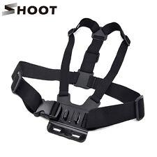 SHOOT Adjustable Chest Strap Band Shoulder Belt Harness f GoPro 6 5S 5 4S 4 3+ 3