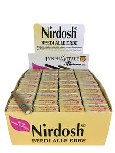 Nirdosh 40 pacchetti da 10 Beedies Con Filtro - Programma per Smettere di fumare