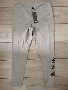 Women's plus size adidas leggings. Grey. Size 1x (20-22) Brand New With Tags