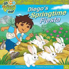 Diego's Springtime Fiesta : Go Diego Go  Paperback book NEW