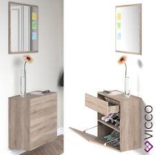 VICCO Garderobe Wand Flur Garderobenset Hängeschrank Schuhschrank Spiegel