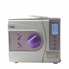 23L Dental Vacuum Steam Sterilizer Medical Autoclave With Printer 110V US CA Y