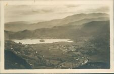 Real photo; Grasmere from seat sandal; GP Abraham