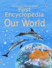 First Encyclopedia: First Encyclopedia of Our World by F. Brooks (2004, Paperba…