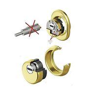 defender protezione serrature monolito Kripton BKS 200 oro lucido