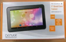 "Brand New Denver 7"" quad core Android Tablet 4.4 Touch Wide Screen 800 x 480"
