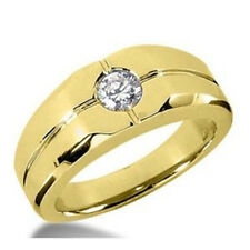 Diamant Brillantring Herren 0.25 ct. Brillant 585 oder 750 Gold + Zertifikat