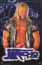 POSTER : WRESTLING:  WWF  : CHRIS JERICHO       FREE SHIPPING    #3474    RC15 D