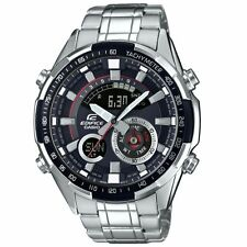 Casio Men's Edifice Thermometer Alarm World Time Chronograph Watch  ERA-600D-1AV