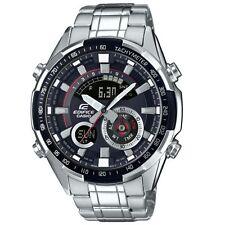 Casio Para Hombre Termómetro Alarma Cronógrafo Reloj Redondo Edifice ERA-600D -1 AVUEF