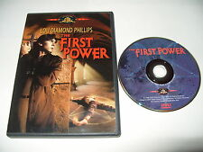The First Power-Lou Diamond Phillips dvd 2001 -no booklet -NTSC REGION 1