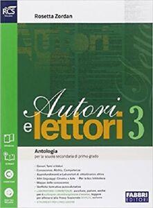 9788891502414 Autori e Lettori 3 + Quaderno 3 Per la Scuola media.