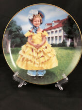 "Shirley Temple Danbury Mint ""The Little Colonel"" Decorative Plate Numbered"