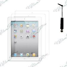 2x Films protection protecteur écran mini stylet  IPAD 2 3 4 Nouvel ipad Retina