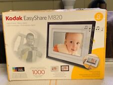 KODAK EasyShare Digital Picture Frame M820 Stores 1000 Photos NEW Open Box