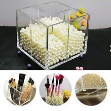 Acrylic Make up Storage Empty Holder Cosmetic Case Box For Makeup Brush Pen O✿