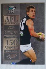 Port Adelaide 2012 AFL Stars 150 Games Milestone Football Card Brett Ebert