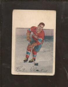 1952-53  PARKHURST  # 93  BERT OLMSTEAD   Montreal Canadiens   Very Good