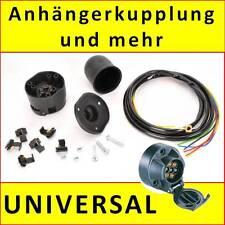 Elektrosatz Anhängerkupplung 7-polig ES7 E-Satz Kabelsatz universal Kappe NEU
