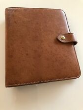 Beautiful Mulberry Agenda Filofax In Oak NVT Leather