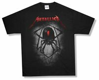 Metallica Spider Black T Shirt New Official Adult