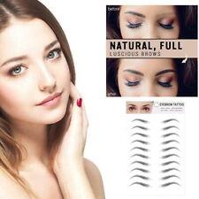 4D Hair Like Stick On Eyebrows Tattoo Sticker Waterproof Authentic Eyebrow