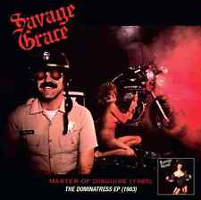 Savage Grace-Master of Disguise & the dominatress CD REMASTERED +4 US Metal