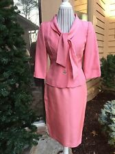 TALBOT'S Pure Silk Women's Skirt Suit .Size 4 Beautiful!!!